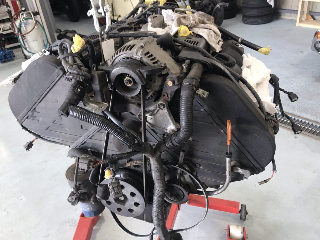 NSXエンジンオーバーホール